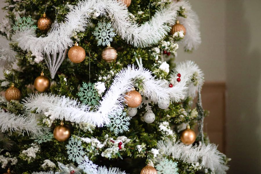 Come realizzare un albero di Natale shabby chic