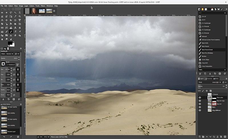 Pennelli GIMP: cosa sono e come installarli