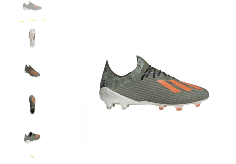 Scarpe da calcio Adidas X per migliorare le performance