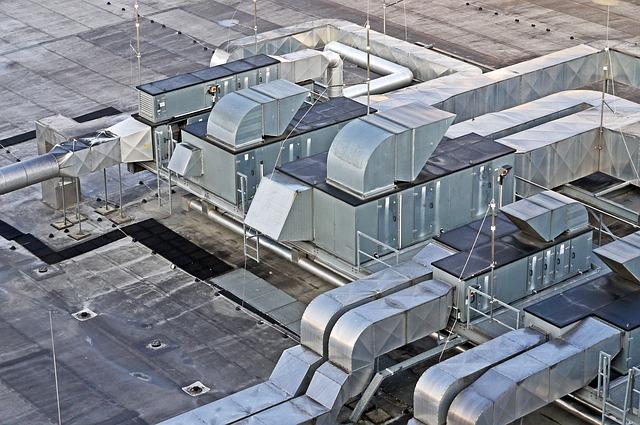 Impianti di condizionamento per capannoni
