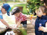 Attività all'aperto per bambini